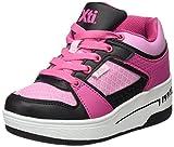 XTI 053436, Zapatillas Altas Unisex Niños, Varios Colores (Negro /Fucsia), 38 EU