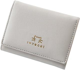 ミニ財布 レディース 三つ折り 猫 小さい財布 手のり財布 金運アップ カワイイ 大容量 写真入れ コインケース カードケース かわいい コンパクト 女性用 友達 家族 プレゼント