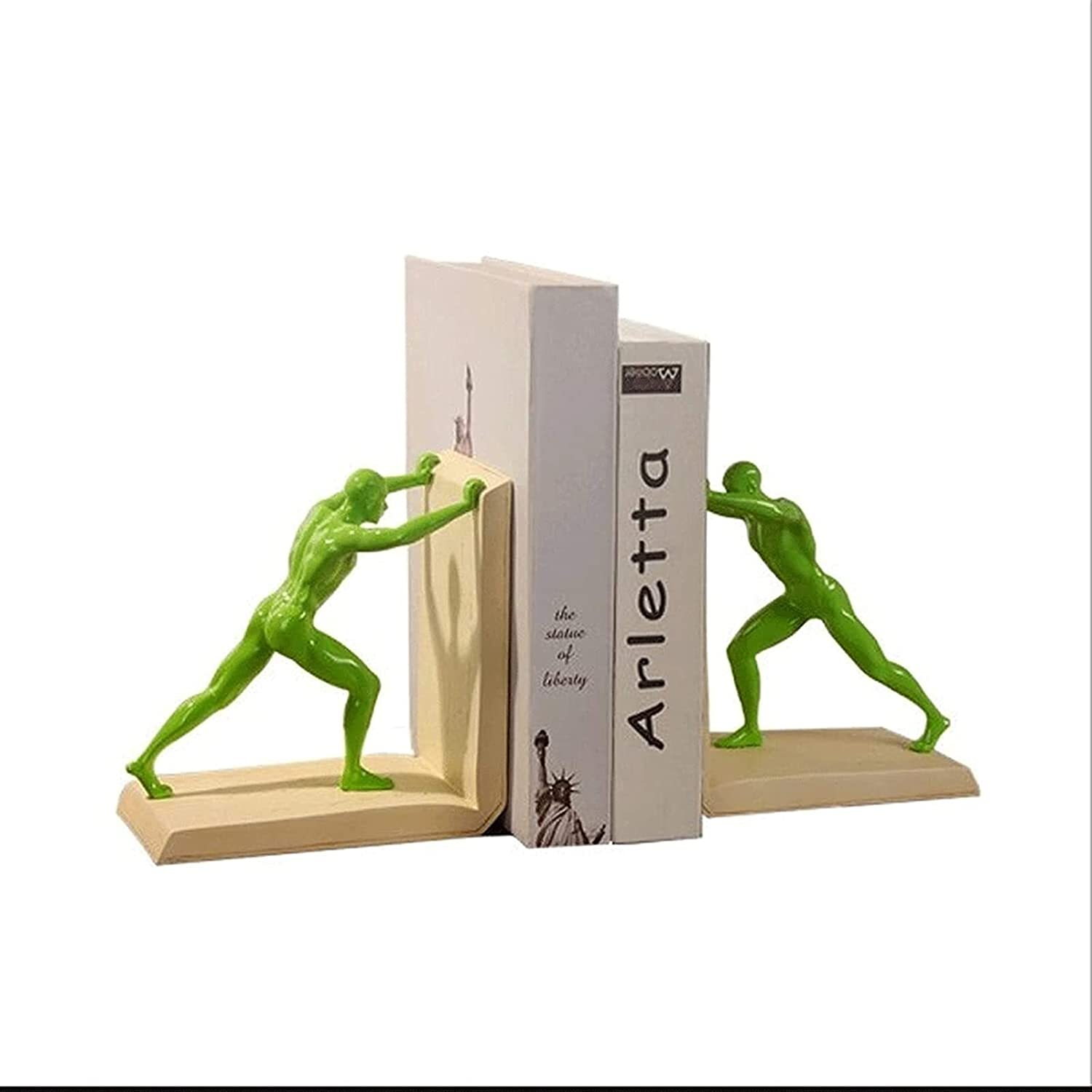 excellence Samantha Personalized bookend Book Ends A surprise price is realized Double Resin Booken Head