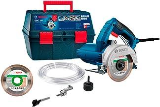 Serra Mármore Bosch GDC 151 TITAN 1500W 220V com 1 disco, kit refrigeração e maleta