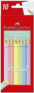 Ecolapis Cor Pastel F.Castell 10 Cores, Faber-Castell, 120510P, Multicor, pacote de 10