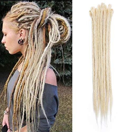 1 paquete de extensiones de cabello Dreadlocks de 20