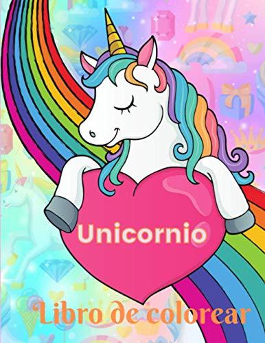 Unicornio - Libro de colorear: Para chicas - para niñas -...
