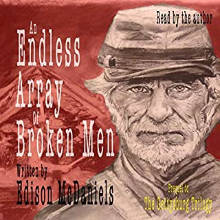 An Endless Array of Broken Men audiobook cover art