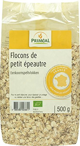 Primeal Flocons de Petit Epeautre France 500 g (1 Unité)