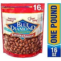 Blue Diamond Gluten Free Almonds, Smokehouse, 16 Ounce