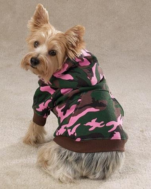 Casual Canine Camo Hoodie XSM Multicolor