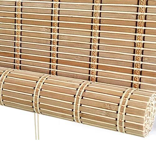 Bambusrollos im japanischen Stil, 60 cm / 70 cm / 80 cm breiter Bambusvorhang, 60{59371cba5b92b2bd3efec9c89080b1921fe815415befa47767cf35a67d8344c4} Verdunkelung, Sonnenschutz und UV-Schutz (Farbe : Wave Valance, größe : 60x80cm(WXH))