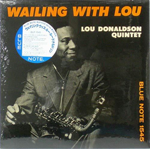 Wailing with Lou / Lou Donaldson Quintet - ルー・ドナルドソン [12 inch Analog]