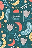 Agenda Telefónica: Cuaderno con espacios preimpresos para registrar nombres, direcciones, cumpleaños, números de teléfono, correos electrónicos | 6x9, 110 páginas