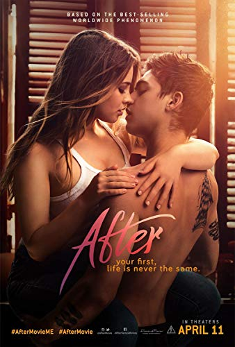 After Movie Poster Limited Wall Art Print Photo Hero Fiennes Tiffin, Selma Blair, Josephine Langford Size 24x36#1