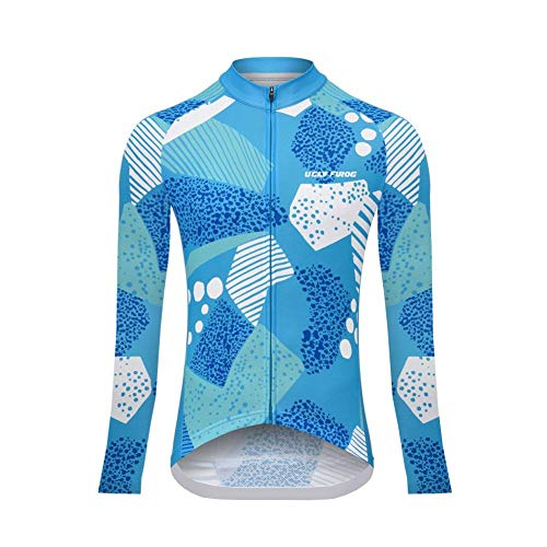 Uglyfrog Classico Abbigliamento Ciclismo Donna Ciclismo Maglia Traspirante Asciugatura Veloce Bicicletta Lunga Manica Camicia Meglio in Forma CXWX03F