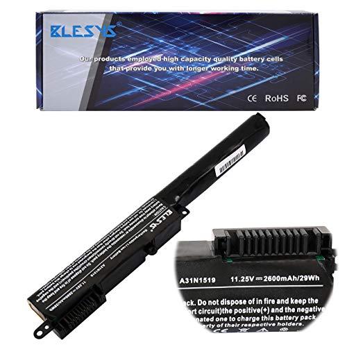 BLESYS A31N1519 Batería de portátil para ASUS X540A X540B X540L X540LA X540LJ X540MA X540MB X540NA X540NV X540S X540SA X540SC X540UA X540UAR X540UB X540UP X540UV X540Y X540YA Batería 11,25V 26