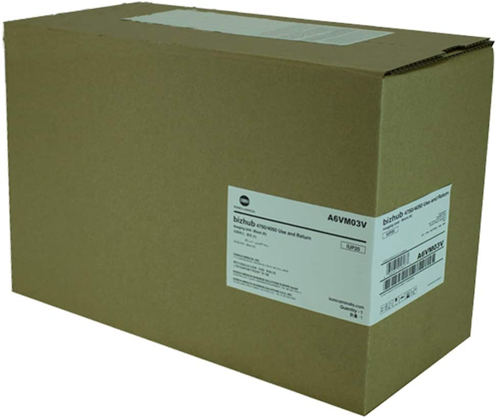 Genuine OEM A6VM03V IUP20 Image Unit, 60K Pages, Black