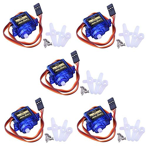 Longruner SG90 Micro Servo Motor 9G RC Robot Helicopter Airplane Boat Controls KY66-5