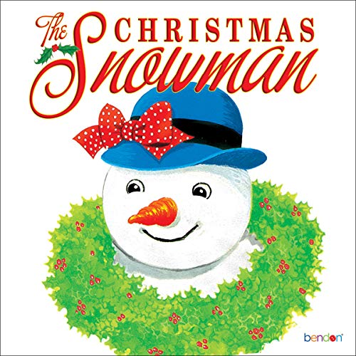 The Christmas Snowman audiobook cover art