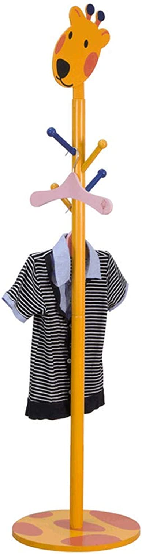 Entryway Coat Rack Coat Rack Cartoon Hanger Household Multi-Hook Clothes Rack Hanging Scarf, Hat, Tie, Shawl, Windbreaker, for Bedroom, Entrance, Living Room, Study, Corridor
