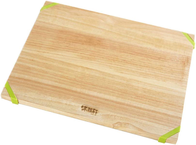 n ° 1 en línea Weiyue Tabla de Cortar- Tabla de Cortar Antideslizante de de de Madera Maciza, Tabla de Cortar Antideslizante Tabla de Cortar verde Tabla para Pegar de la Fruta Rectangular  Envío rápido y el mejor servicio