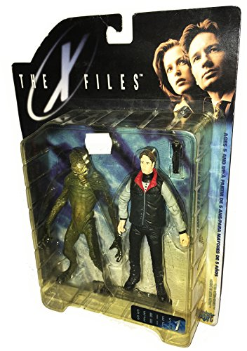 THE X-FILES (AKTE X) - Fight the Future - Action Figuren Reihe: AGENT FOX MULDER & ALIEN