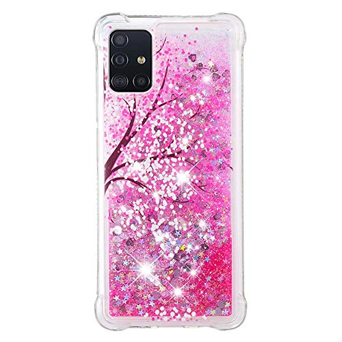 Lvnarery iPhone 11 Pro Case Glitter Creative Flowing Liquid Floating Phone Case Soft Silicone Cover Bling Shiny Crystal Clear Bumper for iPhone 11 Pro,Tree