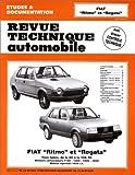 E.T.A.I - Revue Technique Automobile 392.6 - FIAT REGATA - 1978 à 1990