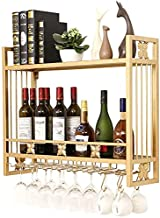 Teapots Organiseer Keuken Wandmontage Wijnrek Glazen Houder | Moderne Ondersteboven Opknoping Wijnfles Houder Opslag | Met...
