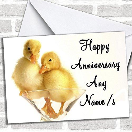 Leuke Eendjes Verjaardagskaart Met Envelop, Kan Volledig Gepersonaliseerd, Verzonden Snel & Gratis