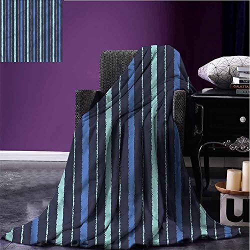 Stevenhome – Manta de Felpa para Todas Las Estaciones, diseño de Flores de Plumbago, Color Azul,…