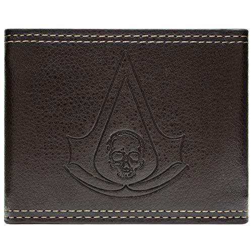 Cartera de Ubisoft Assassins Creed Black Flag marrón