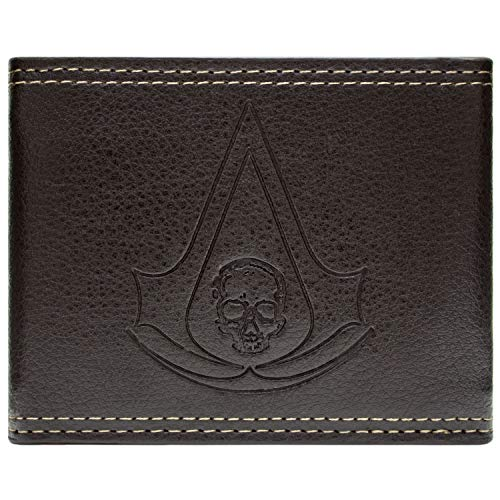 Cartera de Ubisoft Assassins Creed Black Flag marrón