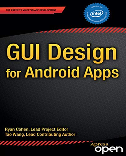 GUI Design for Android Apps English Edition