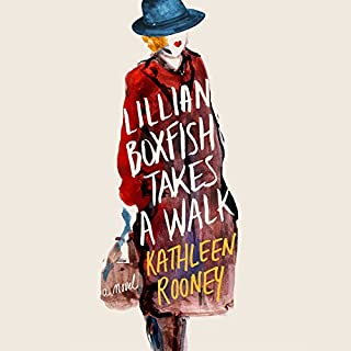 Lillian Boxfish Takes a Walk audiobook cover art