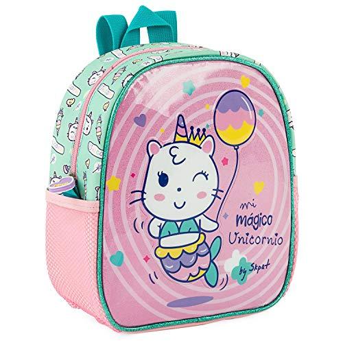 SKPAT - Backpack for Children with Isothermal Lining. Back Name Label 132101, Color Pink