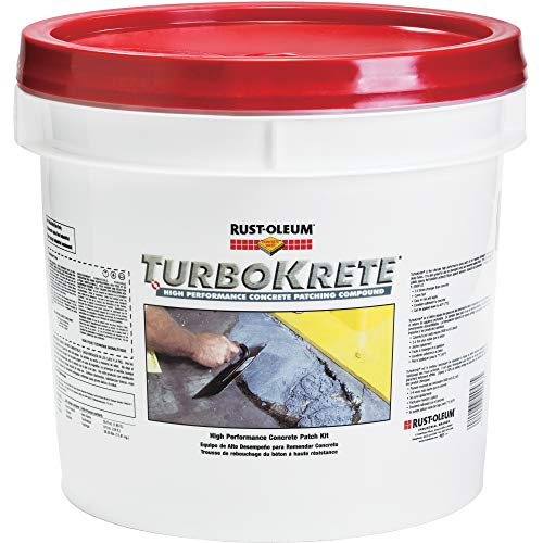 Rust-Oleum 5494323 Concrete Patching Compound Kit, Lt Gray