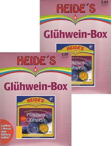 Glühwein Pflaume 9,5% Alc. 2er-Pack, 2 x 5 Liter