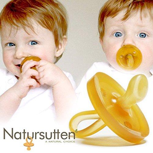 EcoBaby(エコベビー社)おしゃぶりNATURSUTTENナチュアスッテン歯科矯正型M(6~12ヶ月)【EB10021】