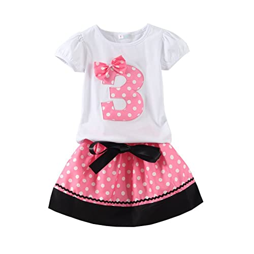 50e1af717 Mud Kingdom Little Girls Birthday Clothes Sets Gifts