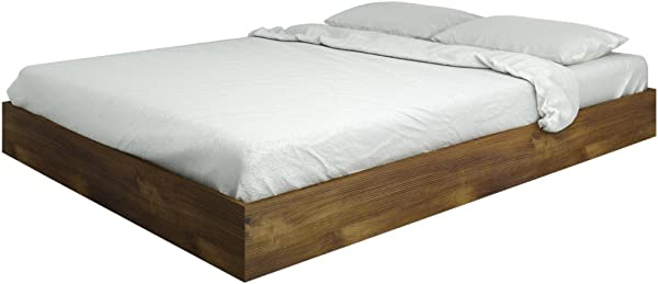 Nocce Queen Size Bed 401260 From Nexera Truffle