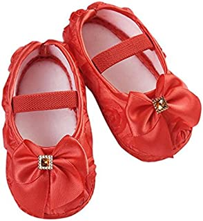 FemmeStopper Baby Girl 9-13 Months (13cm) Baby Girl Shoes First Walker Sneakers Girls Princess Shoes