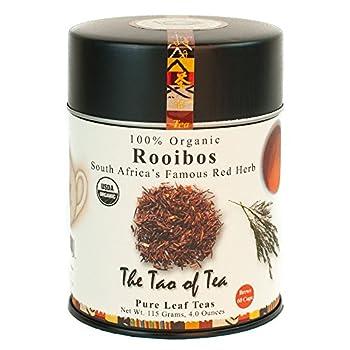 The Tao of Tea Rooibos Tea Loose Leaf 4 Ounce Tin