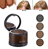 (Black/Brown) Hair Concealer /Root Cover Up -Instant gray coverage that leaves your hair soft and manageable Instant temporary haircolor for light, dark or gray roots. Paraben, sulfate & peroxide free Won't damage hair Fills in and Volumizes thinning...