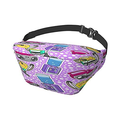 Hüfttasche Haushaltsgerät Boombox Staubsauger Wasserspender Rosa Sling Bag Umhängetasche Brusttasche Umhängetasche