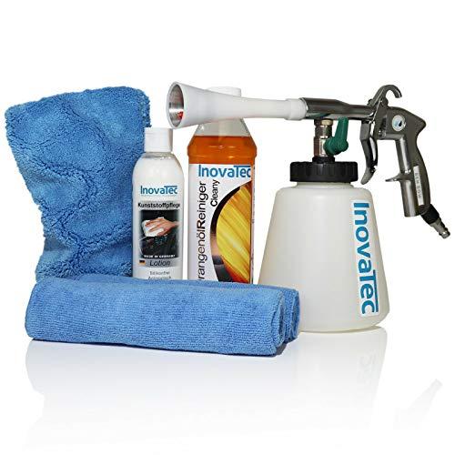 Inovatec Blowgun Orangenölreiniger UniversalReiniger Interior Waschhandschuh CK1