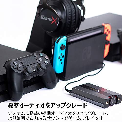 CREATIVE G6 7.1 HD Gaming DAC y Tarjeta de Sonido USB Externa con Amplificador de Auriculares Xamp para PS5, PS4, Xbox One, Nintendo Switch y PC