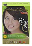 Natural Mi Ya Hair Color, Herbal Hair Dye & Hair Nutritions by Extracted Ginseng,Henna Hair Color Colorants, Permanent (1 Pack, Dark Brown)
