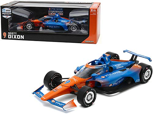 Green Light New Dallara IndyCar #9 Scott Dixon PNC Bank Chip Ganassi Racing NTT IndyCar Series (2020) 1/18 Diecast Model Car