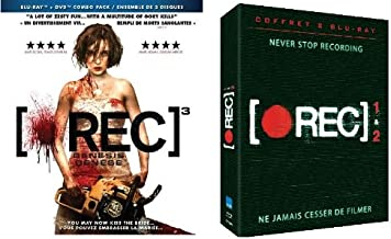 [Rec] 1 & 2 & 3: Genesis - Triple Movie Pack [Blu-ray Horror Set] New
