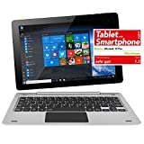 NINETEC Ultratab 10 Pro Convertible Tablet PC 2in1...