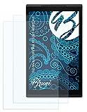 Bruni Schutzfolie kompatibel mit Medion LIFETAB X10301 MD60348 Folie, glasklare Bildschirmschutzfolie (2X)