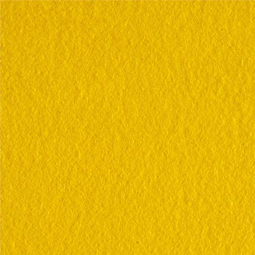 Newcastle Fabrics Polar Fleece Solid Bright Yellow Fabric By The Yard